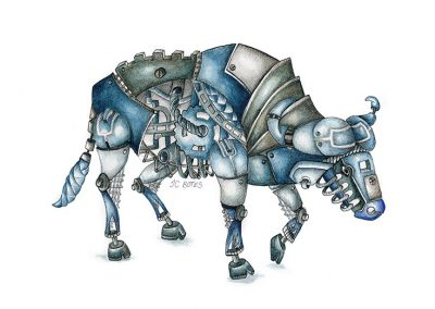 Steampunk Buffalo
